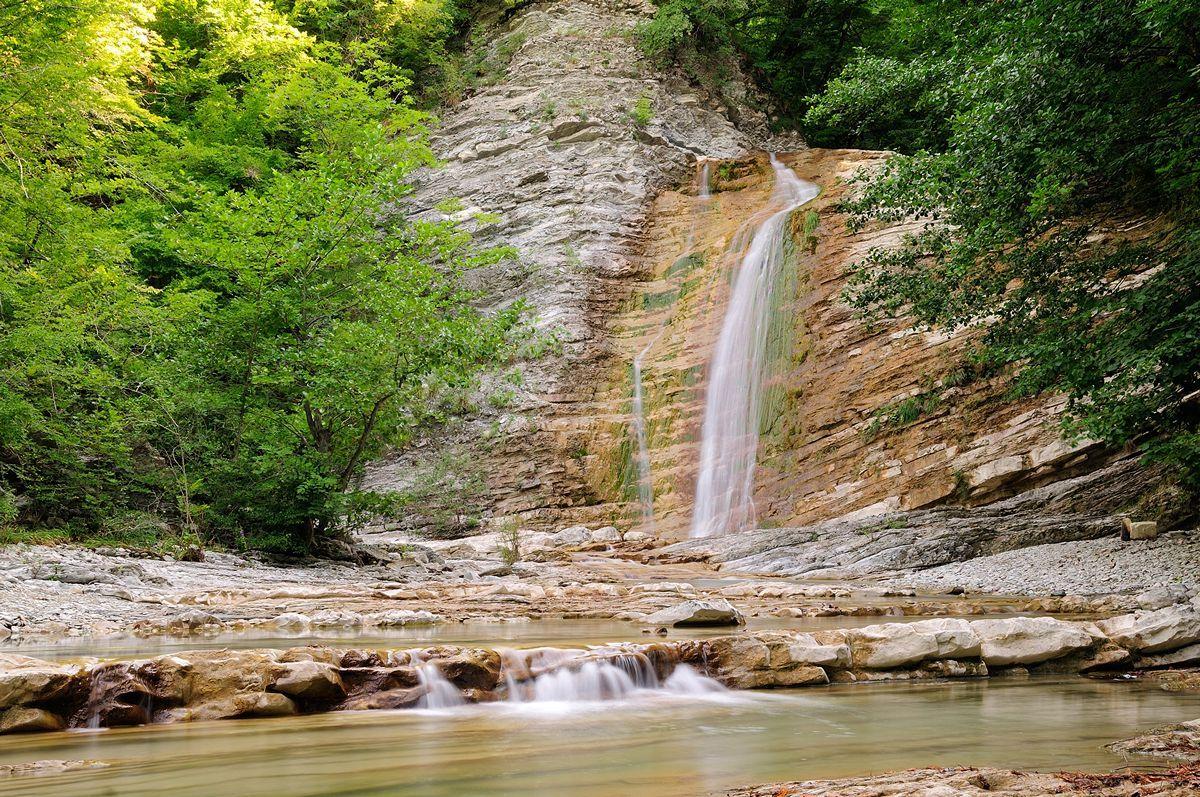 Как добраться до водопадов Геленджика