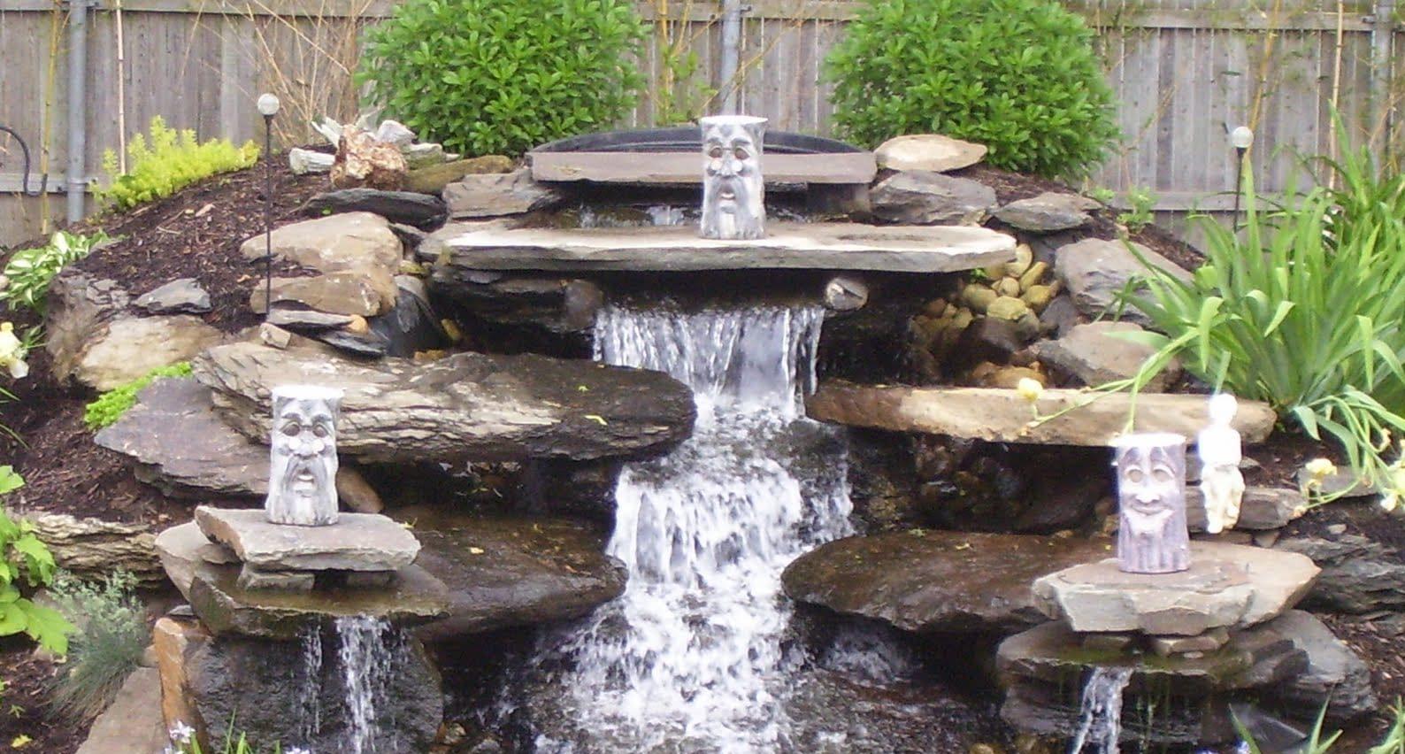 Каркас для водопада