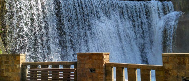 Новоафонский водопад в Абхазии