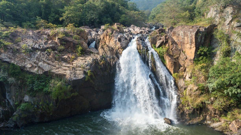 Водопад Равана на Шри-Ланке