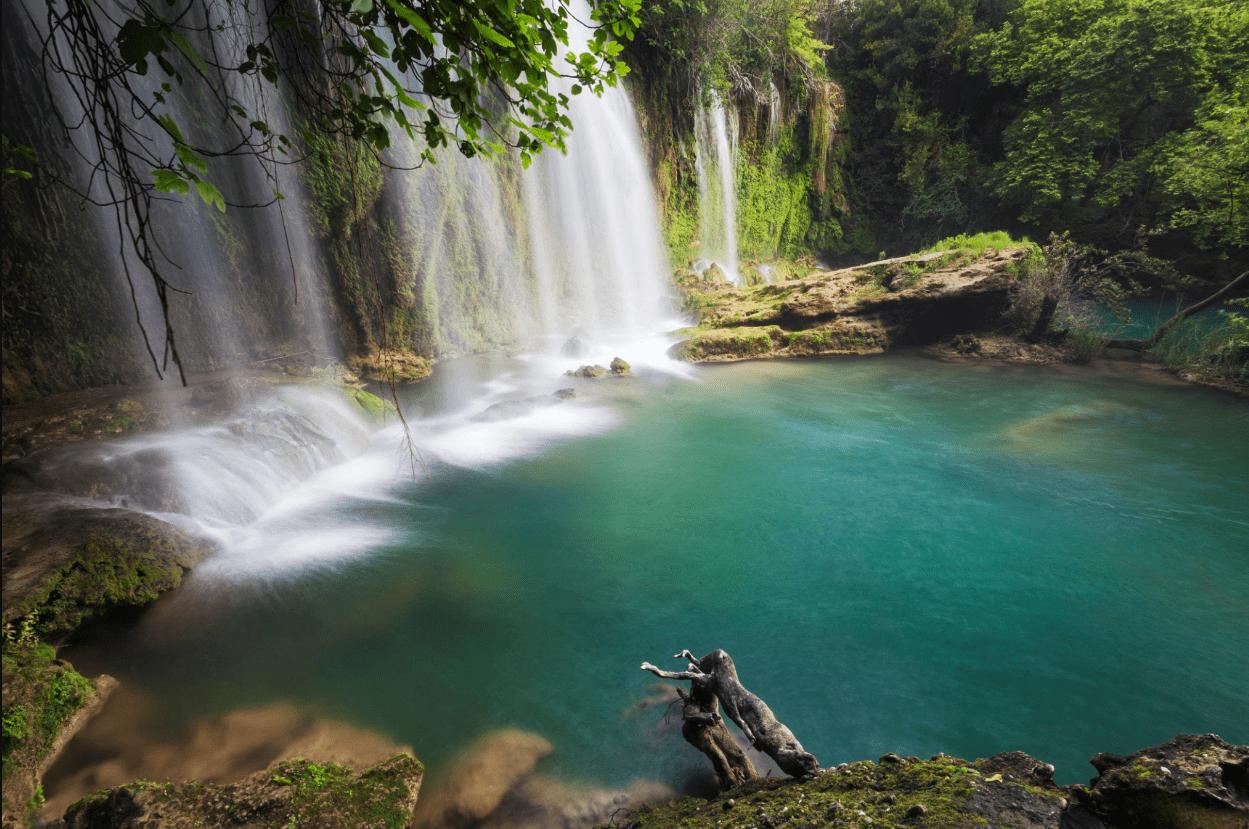 Как доехать до водопада Куршунлу