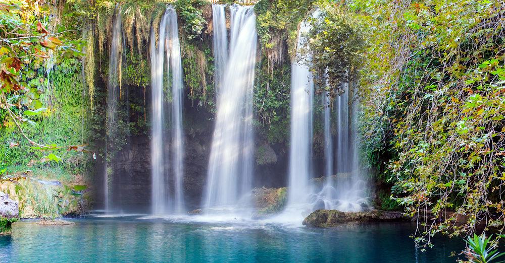 Турецкий водопад Куршунлу