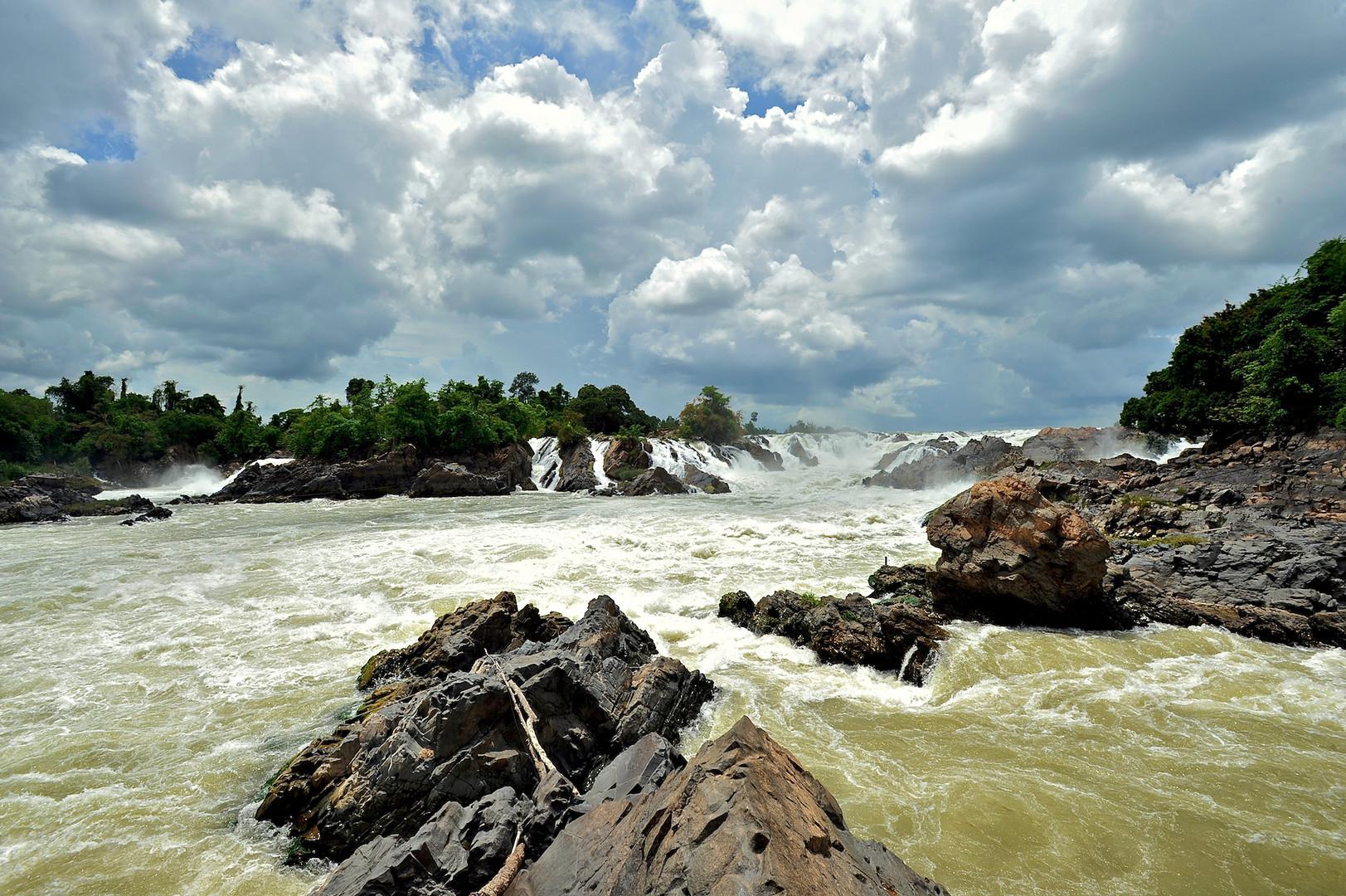 Водопад Кхон Лаос