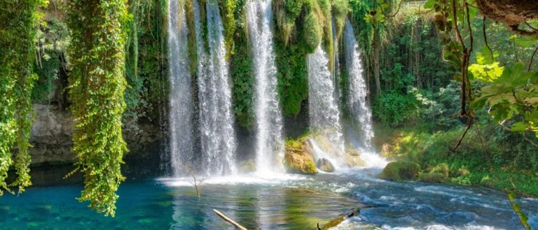 Водопады Куршунлу