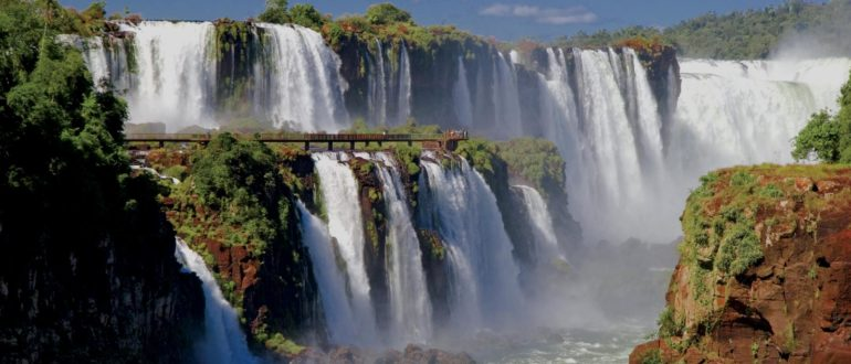 Заповедник Игуасу Аргентина-Бразилия