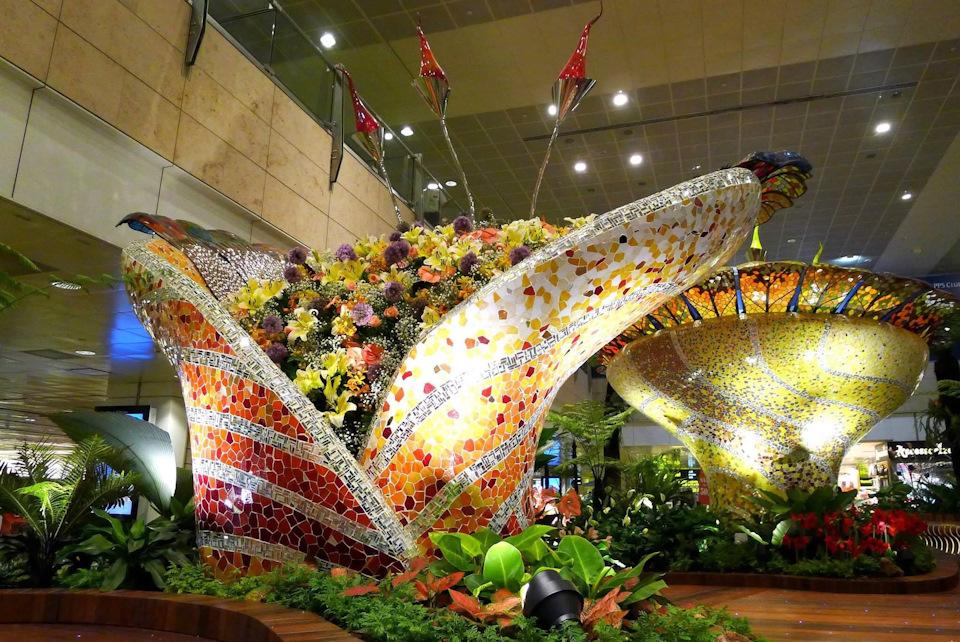 Описание Jewel Changi Airport