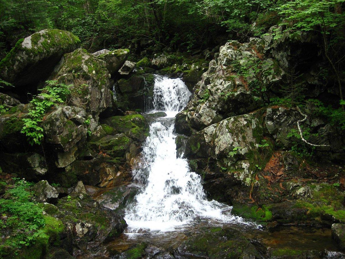 Смольные водопады, Анисимовка