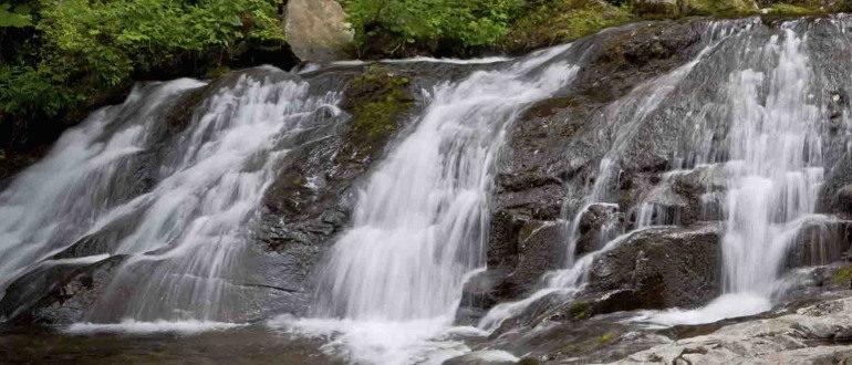 Смольные водопады в Приморском крае