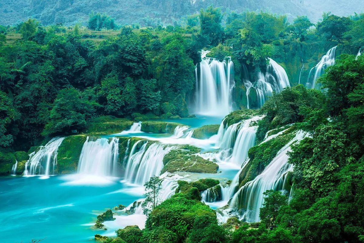 Водопад Банзек, Вьетнам