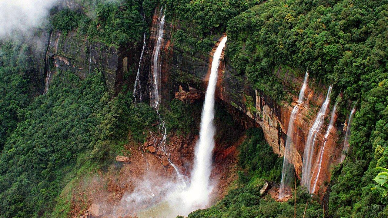 Водопад Герсоппа, Индия