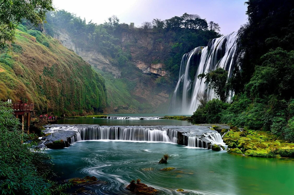Водопад Хуангошу, Китай