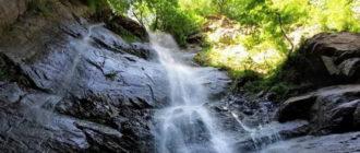 Водопад Махунцети Грузия