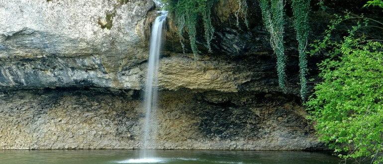 Водопад Мердвен Тобе