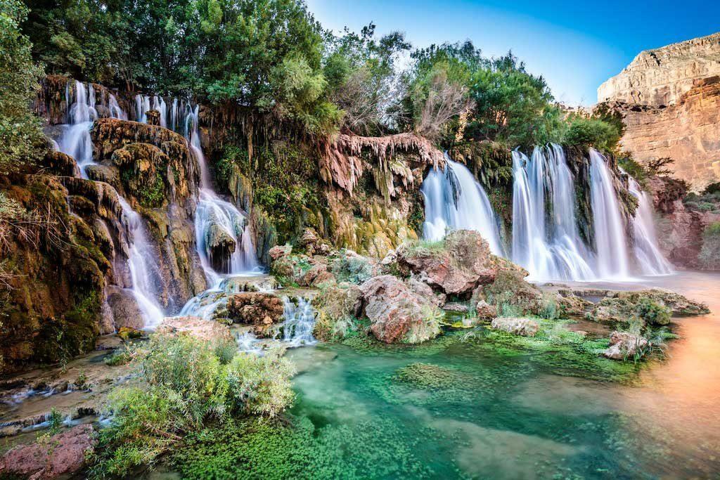 Водопад Новый Навахо, Аризона