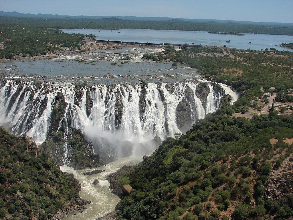 Водопад Руакана, Намибия
