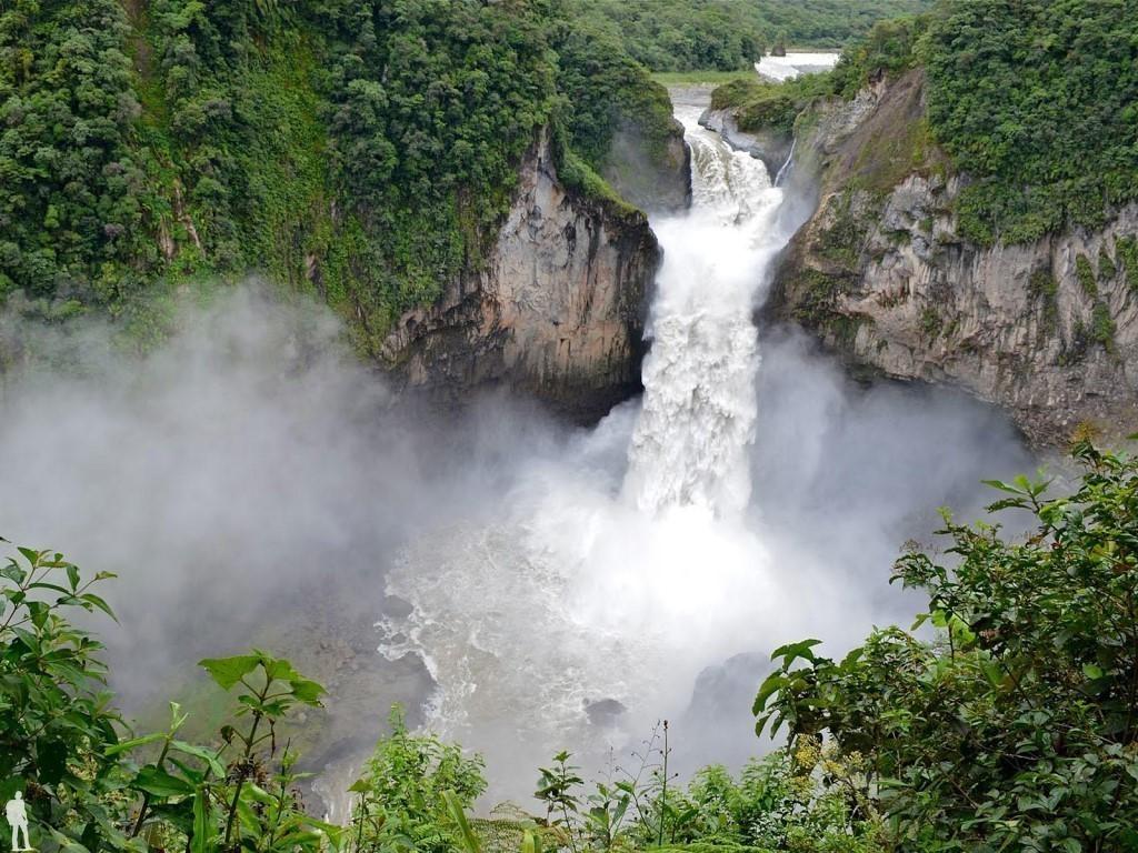 Водопад Сан-Рафаэль, Эквадор